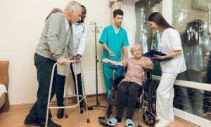 the difference between skilled-nursing and nursing home care